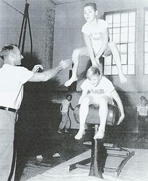 Eric Coaching kids