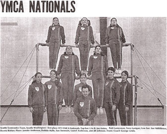 Seattle YMCA 1973 National Champs